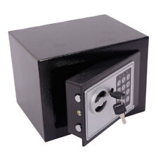 Small Black Steel Digital Electronic Safe Coded Box Home Office Hotel Gun E17EF
