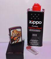 zippo   Panthère  de 1992 avec recharge et pierres