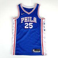 Ben Simmons 25 Philadelphia Phillies Basketball Top Jersey Singlet Mens Size S