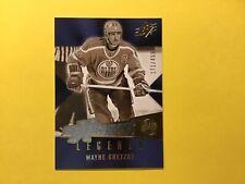 Wayne Gretzky 2005-06 SPx Xcitement Legends 05-06 Edmonton Oilers *read*
