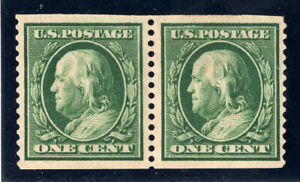 US Stamps Scott #352* MLH VF/XF, Signed On Back, Cat: $260