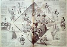 LA MODE ILLUSTREE-1896-20-avec PATRONS-VOIR MODELES DETAILLES
