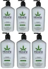 LOT OF 6 HEMPZ COCONUT & WATERMELON MOISTURIZER TAN EXTENDER