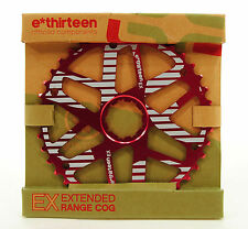 e*thirteen Extended Range Cog 40t, Shimano 34t Compatible, Red
