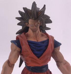 "2004 Jakks Dragon Ball Z SS3 Goku LE Giant Ape 10"" Action Figure Toy Rare BIG"