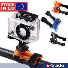 Fahrrad Rohr Lenker Klemme Halterung Halter Adapter für GoPro 1 2 3 3+ 4 Kamera