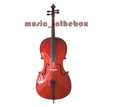 Student Model - 3/4 Solid Wood Cello +Bow + Rosin + Bag