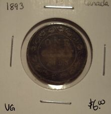 Canada Victoria 1893 Large Cent - VG