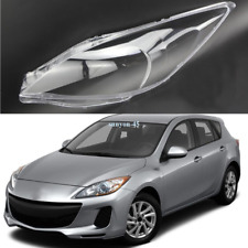 For 2010-2013 Mazda 3 Left and Right Front Kit Cover Lens for Headlights+Sealant