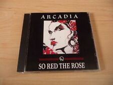 """CD Arcadia-così Red the Rose - 1985 """"incl. Election Day & the promise-RARE"""