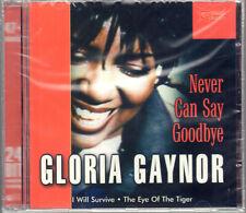 """GLORIA GAYNOR """" NEVER CAN SAY GOODBYE """" CD SIGILLATO RARO PRIMA EDIZIONE"""