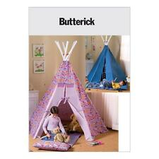 BUTTERICK SEWING PATTERN TEPEE & MAT B4251