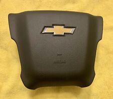 CHEVY SILVERADO 2500/3500 HD 2015-19 BLACK Drivers Airbag W/ SRS Plug Connector.