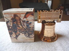 """Vintage Avon Liberty Bell Decanter Deep Woods After Shave """" NIB """" BEAUTIFUL ITEM"""