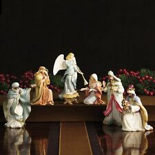 Lenox Nativity 7 PIECE SET Little Town of Bethlehem Holy Family Kings Angel NEW