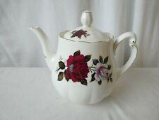 Colclough Amoretta 7906 Red Rose Teapot Vintage Tea Pot