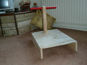 T-bar positioning stand (cane)