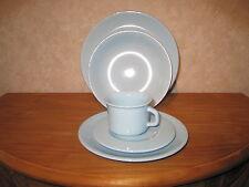 NIDERVILLER *NEW* BLEU BLUE Set 24 pièces : assiettes + tasses / plates + cups