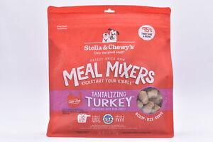 Stella & Chewy's Freeze Dried Raw Tantilizing Turkey Meal Mixers, 8oz, EXP:01/22