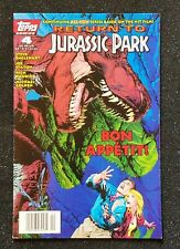 Return to Jurassic Park, Vol. 1 #4 (Topps 1995), Good Condition