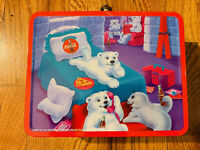 Cool Coca Cola Bear Tin Lunchbox