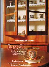 Siemen, Porträt-Tassen, Bildnisse f Ewigkeit, Porzellan Sammlung Eva Heine, 1998