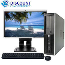 "HP Pro Desktop Computer Tower 2.8GHz 4GB 250GB 17""LCD Windows 10 Pro Wifi DVD-RW"