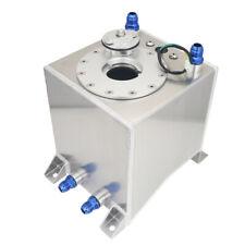 Universal 2.5 Gallon 10L Fuel Cell Tank With Level Sender Aluminum Racing Drift