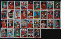 1989 Topps St. Louis Cardinals Team Set of 36 Baseball Cards With Traded