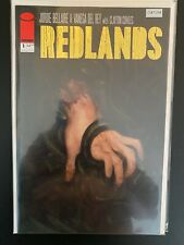 Redlands 1 High Grade Gold Foil Variant Image Comic Book CL87-254