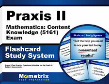 Praxis II Mathematics: Content Knowledge (5161) Exam Flashcard Study System