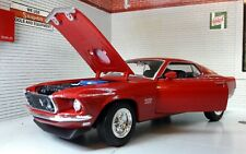Ford Mustang Boss 429 1969 GT Fastback 1:24 Scale Welly Diecast Model Car 24067