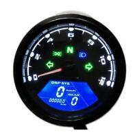 Digital Motorrad Tacho  LCD Drehzahlmesser Speedometer Kilometerzähler 8-18V DE