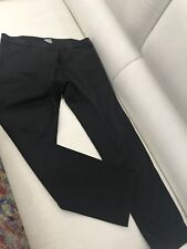 SASS AND BIDE WOMENS PANTS BLACK STRETCHY MADE IN AU POCKETS SZ 32