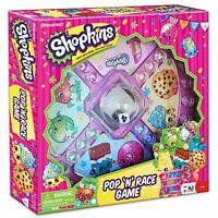 Shopkins Pop 'N' Race Game Up to 4 Players Ages 5+ New in Box