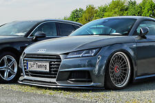 Spoilerschwert Frontspoiler Lippe Cuplippe ABS für Audi TT TTS 8S S Line