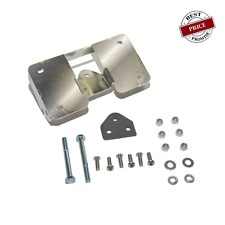 Complete Chrome Turn Signal Re location Kit FOR DYNA MODELS - 2002 THROUGH 2005
