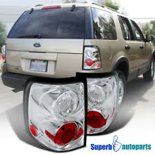 2002-2005 Ford Explorer Replacement Clear Tail Brake Lights Clear