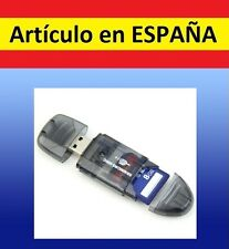 LECTOR TARJETAS DE MEMORIA SD a USB TF card T-Flash mini adaptador M2  MMCSDHC G