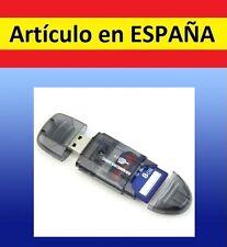 LECTOR TARJETAS DE MEMORIA SD a USB TF card T-Flash mini adaptador M2  MMCSDHC G