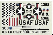 Loose, Bare Metal Foil 57th FIS F-4E Phantom  Decals 1/72  -3