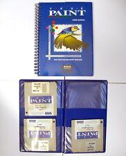 Rare Logiciel Software disk TRUE PAINT ATARI ST / STE / MEGA / TT / FALCON 030