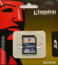 SD Card 4GB Kingston 4G Secure Digital Flash MEMORY fit Camera Nintendo Wii CPU