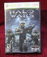 Halo Wars XBox 360 Microsoft Ensemble Studios Disc & Case