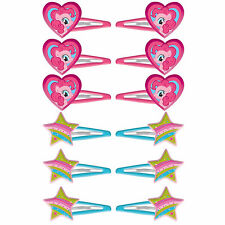 My Little Pony Hair Clips 12ct ~ Girls Birthday Decorations Party Favor Supplies