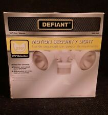 Defiant 270-Degree White Motion Outdoor Security Area Light
