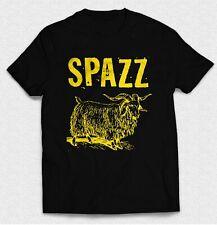 Vintage Love Hardcore Spazz Charles Bronson Logo Rock Band Men's T Shirts