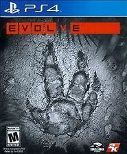 PS4 Evolve Cardboard Sleeve NEW Factory Sealed (Sony PlayStation 4, 2015)