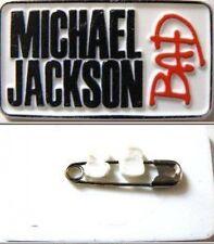 MICHAEL JACKSON 'BAD'  original plastic badge