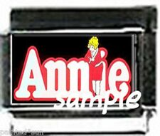 Annie musical 9mm Italian Photo Charms charms for modular link style bracelets